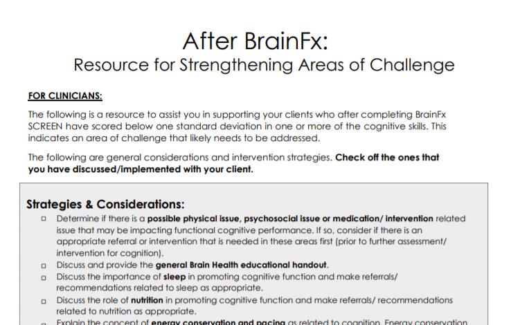 After BrainFx 360 resource